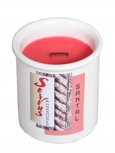 Lumanare Parfumata LEMN DE SANTAL, cu fitil din lemn0
