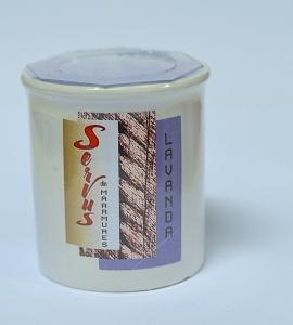 Lumanare Parfumata LAVANDA, cu 2 fitile din lemn2
