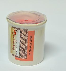 Lumanare Parfumata LEMN DE SANTAL, cu 2 fitile din lemn2