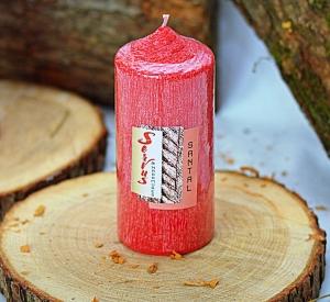 Lumanare Parfumata LEMN DE SANTAL , cilindru 130 mm2