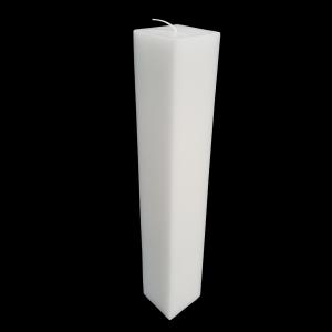 Set 2 Lumanari Nunta,model Patrat, H=40 cm / D= 5,5 cm2