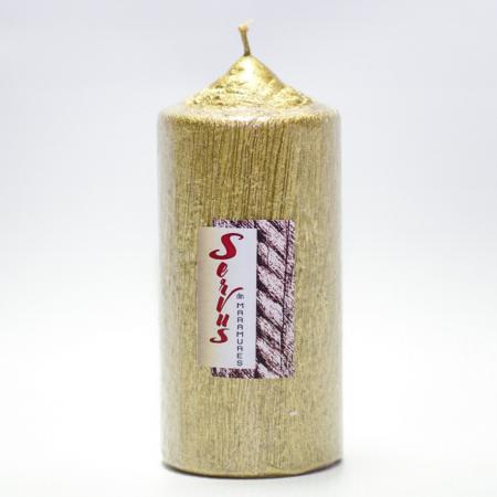 Lumanare AURIE , cilindru 13 cm4