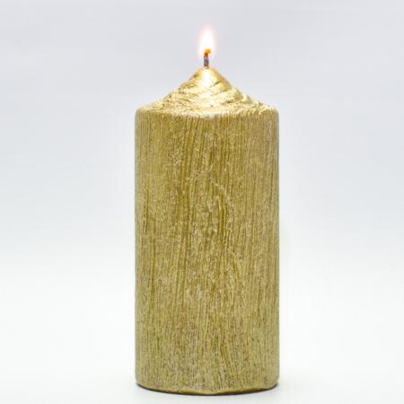 Lumanare AURIE , cilindru 13 cm1