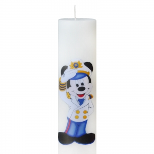 Set 6 Lumanari Botez Marinarul Mickey, H=35cm / D=5,5cm1