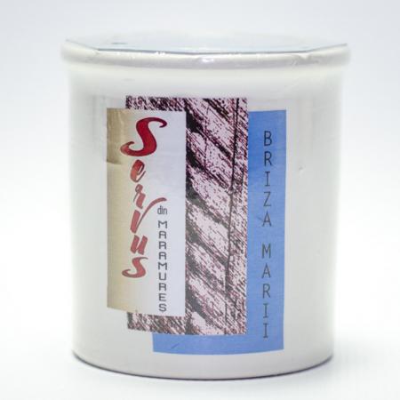 Lumanare Parfumata BRIZA MARII, cu 2 fitile din lemn3