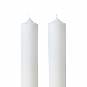 Set 2 Lumanari Nunta, simple, H= 100 cm / D= 4,5 cm0