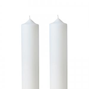 Set 2 Lumanari Nunta, simple, H= 40 cm / D= 5,5 cm0