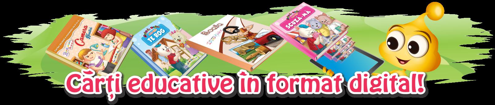 Carti educative digitale - aplicatii pentru mobile