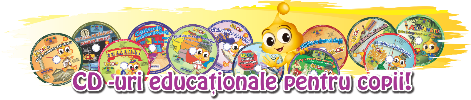 CD-uri educationale pentru copii