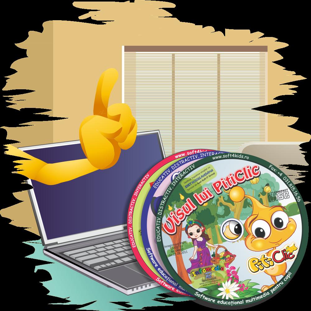 PitiClic - jocuri educaționale pentru copii