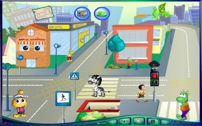 Circulația rutieră... pentru cei mici - Ver 2.0.1