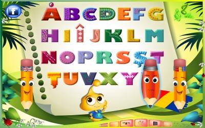 Alfabetul prin integrame cu desene