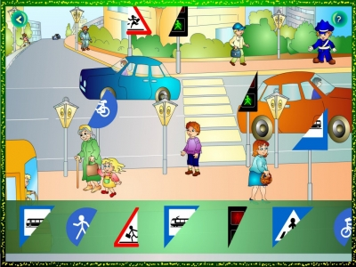 Circulația rutieră... pentru cei mici