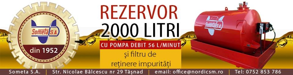 Rezervor 2000 litri