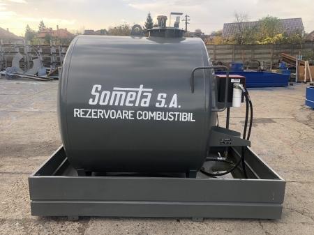 Rezervor suprateran 3000 litri cu pompa Cube 56