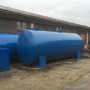 Rezervor suprateran cu pereti dubli  30000 litri
