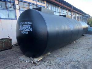 Rezervor subteran 30000 litri cu pereti dubli