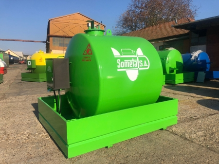 Rezervor suprateran 5000 litri cu pompa  ST BOX - verde3