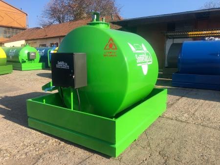 Rezervor suprateran 5000 litri cu pompa  ST BOX - verde2
