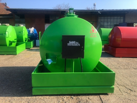 Rezervor suprateran 5000 litri cu pompa  ST BOX - verde1