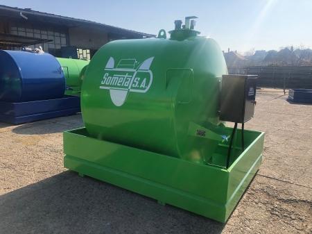 Rezervor suprateran 5000 litri cu pompa  ST BOX - verde0