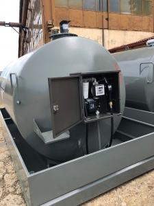 Rezervor suprateran 9000 litri cu pompa ST BOX - gri1