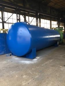 Rezervor suprateran cu pereti dubli  20000 litri