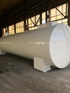 Rezervor suprateran cu pereti dubli  50000 litri