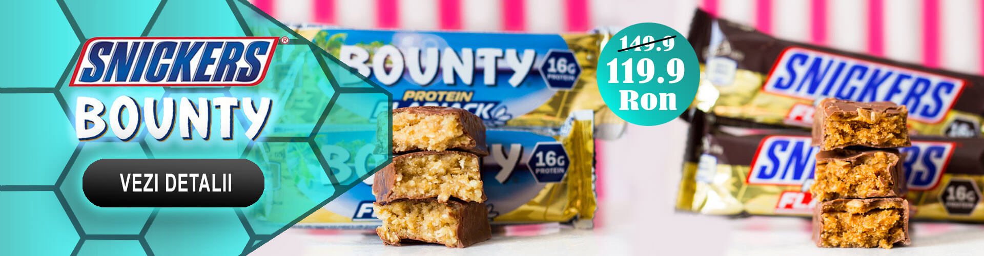 Snickers/Bounty Protein Flapjack