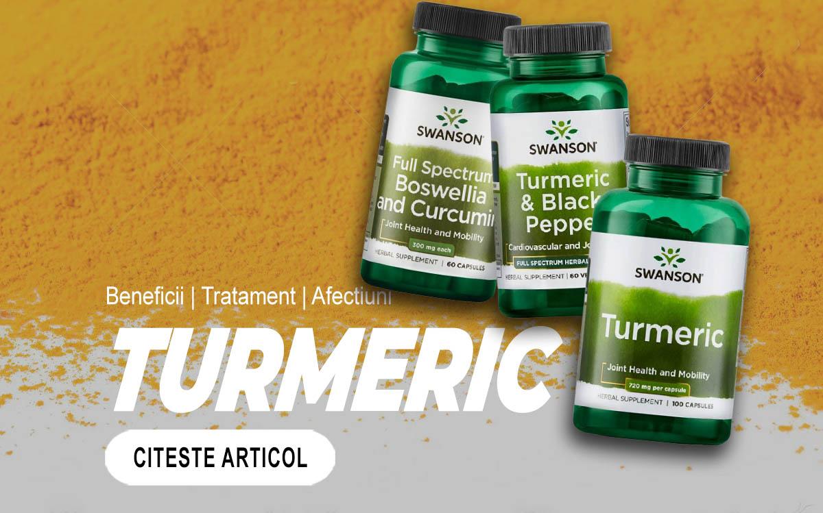 TURMERIC – Ce beneficii are si de ce este atat de important in tratamentul unei game largi de afecţiuni