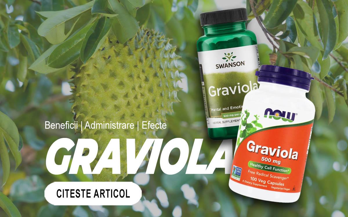 GRAVIOLA - Toate beneficiile pe care nu le stiai