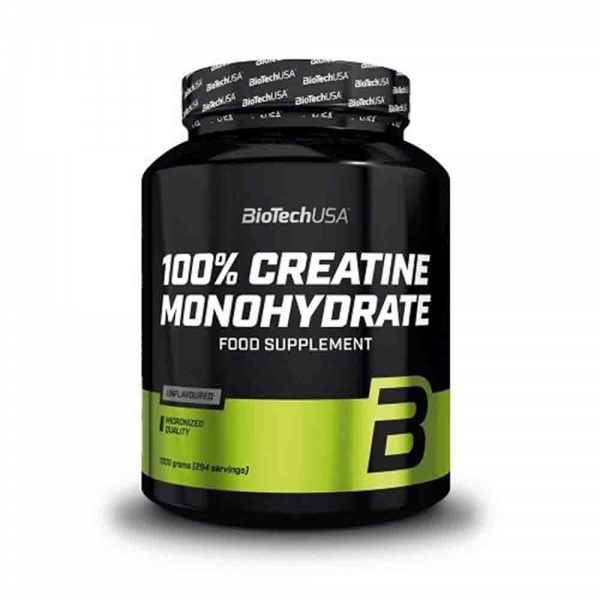 100% Creatina monohidrata, BioTech USA, 1000g 0