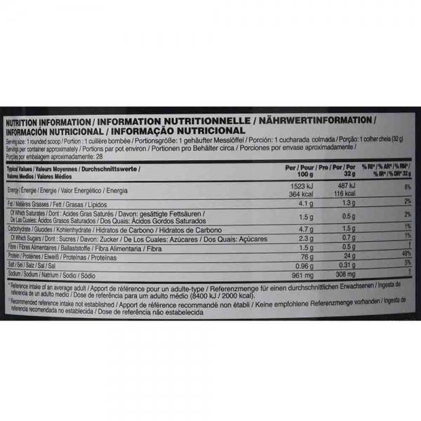 100% Whey Gold Standard, Optimum Nutrition, 2300g 3