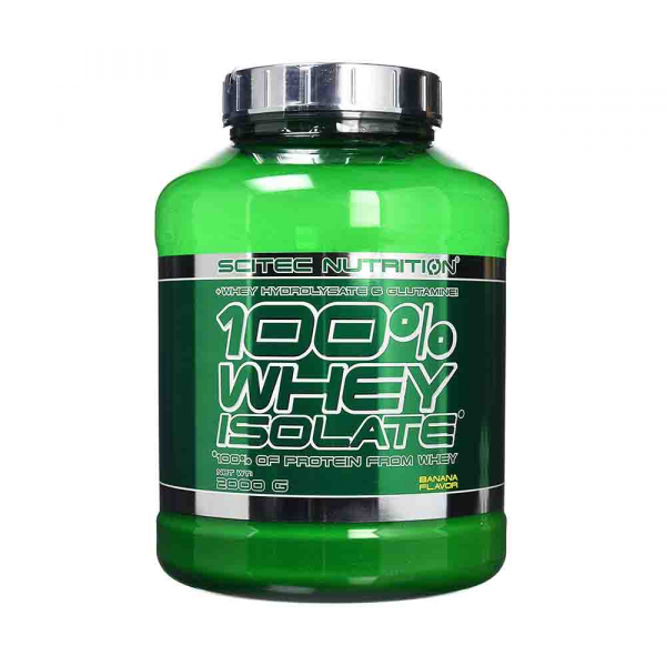 Scitec Nutrition 100% Whey Isolate 2000g 0