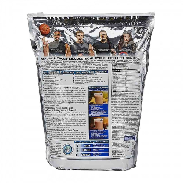 100% Whey Protein Premium Plus, Muscletech, 2720g 1