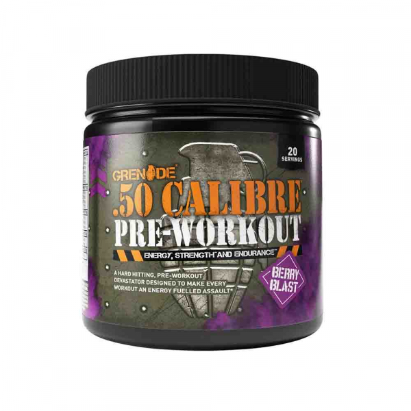 50 calibre Pre-Workout, Grenade 0