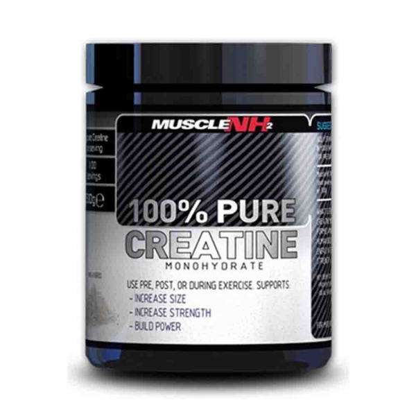 100% Creatina Monohidrata, Muscle NH2, 500g 0