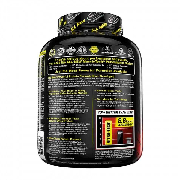 Nitro Tech Performance, MuscleTech, 1800g 1