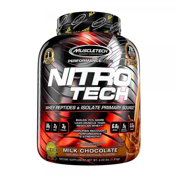 Nitro Tech Performance, MuscleTech, 1800g 0