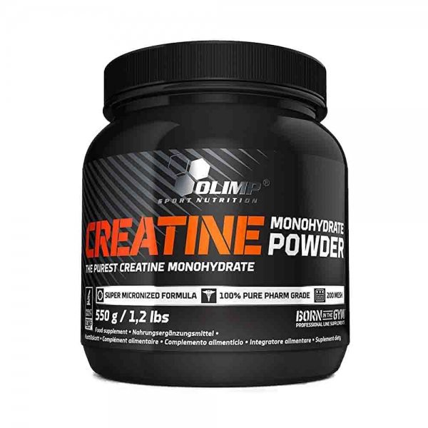 Creatina Monohidrata, Olimp Nutrition, 550g 0