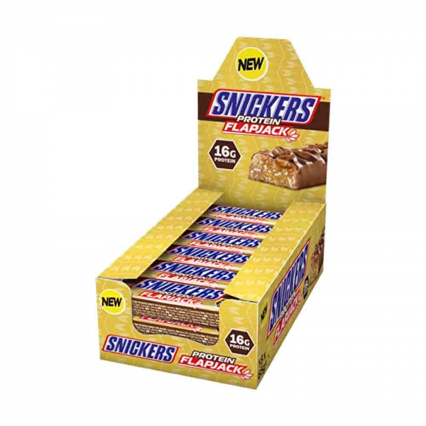 Snickers Protein Flapjack, 18x65g 3