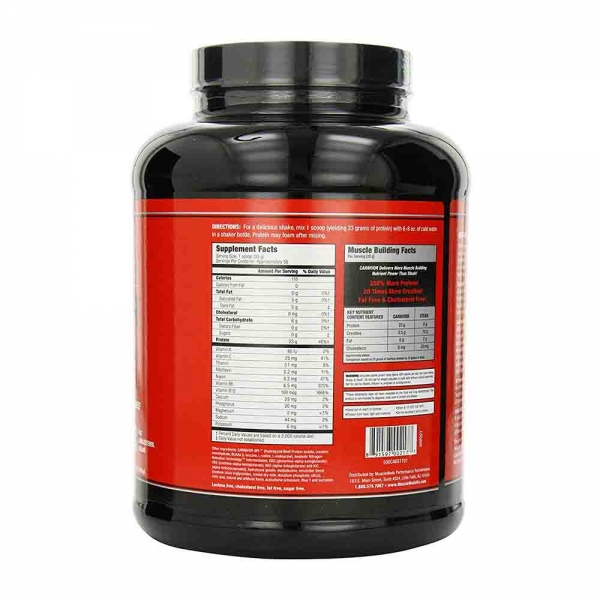 Carnivor Beef Protein Isolate, Musclemeds, 2000g 1