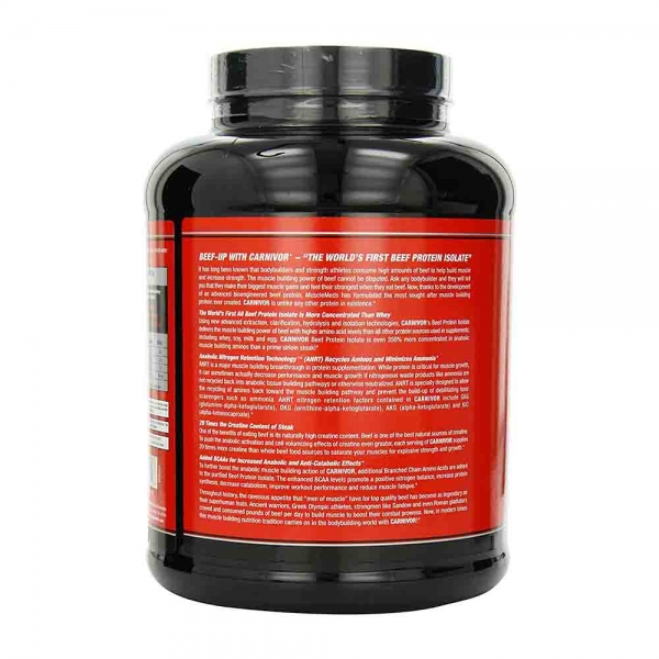 Carnivor Beef Protein Isolate, Musclemeds, 2000g 3