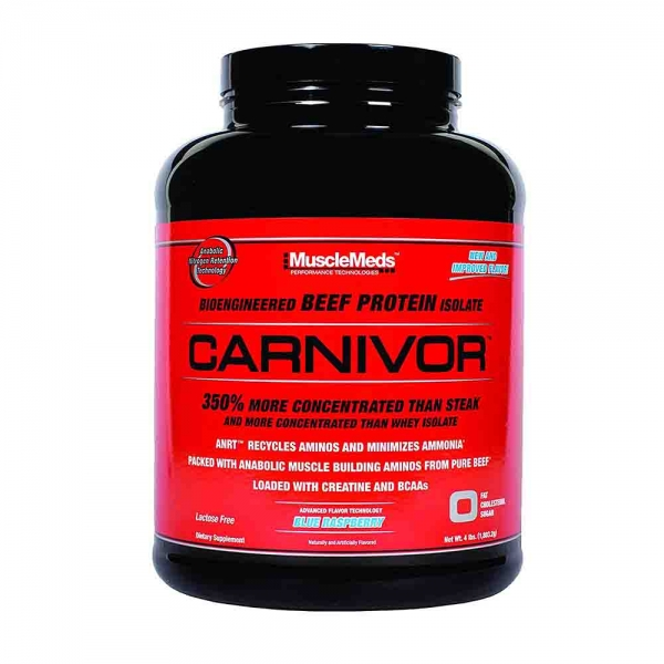 Carnivor Beef Protein Isolate, Musclemeds, 2000g 0