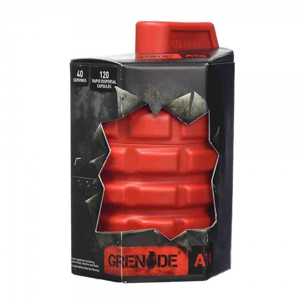 Grenade AT4 Testosteron Booster , 120 capsule 0