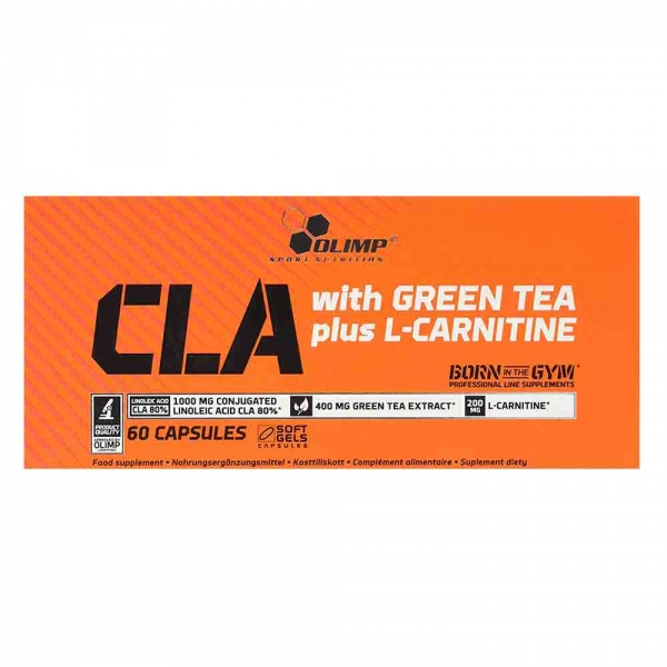 CLA with Green Tea plus L-Carnitine Sport Edition, Olimp, 60 caps 0