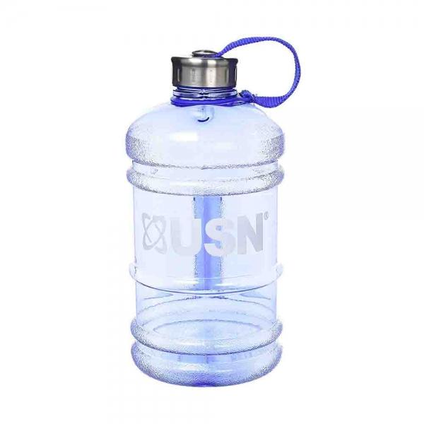Bidon hidratare, USN, 2200ml transparent albastru 0