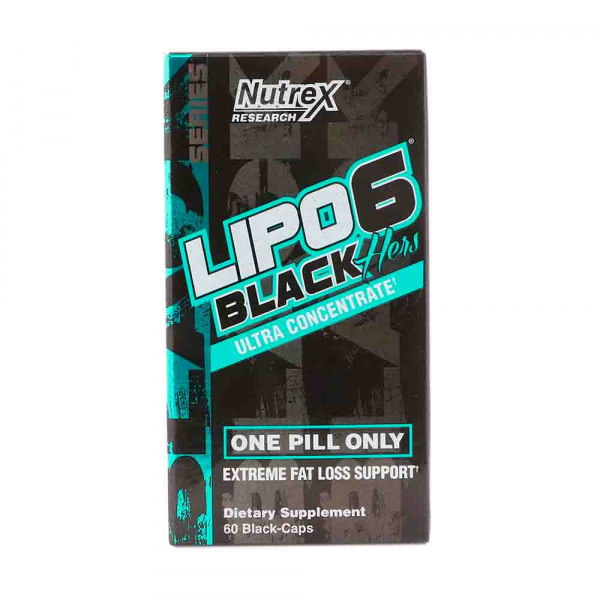 Lipo 6 Black Hers Ultra Concentrate, Nutrex, 60 caps USA 0