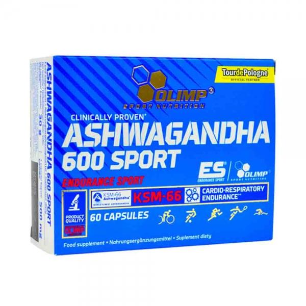 Ashwagandha 600 Sport KSM-66 1