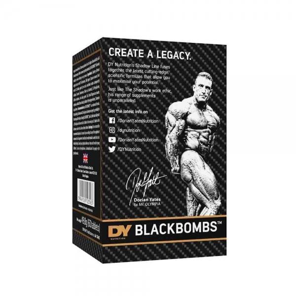Black Bombs Fat Burner, Dorian Yates, 60 tablete 2